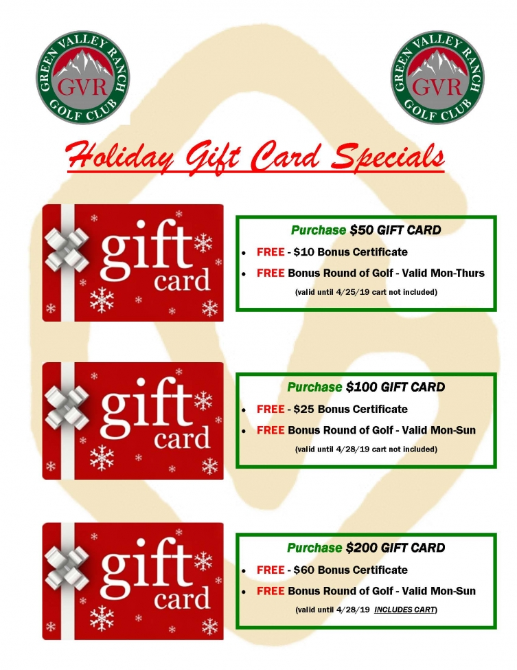 18 11 19 2018 Gift Certificate Bonus Money 11.19.18