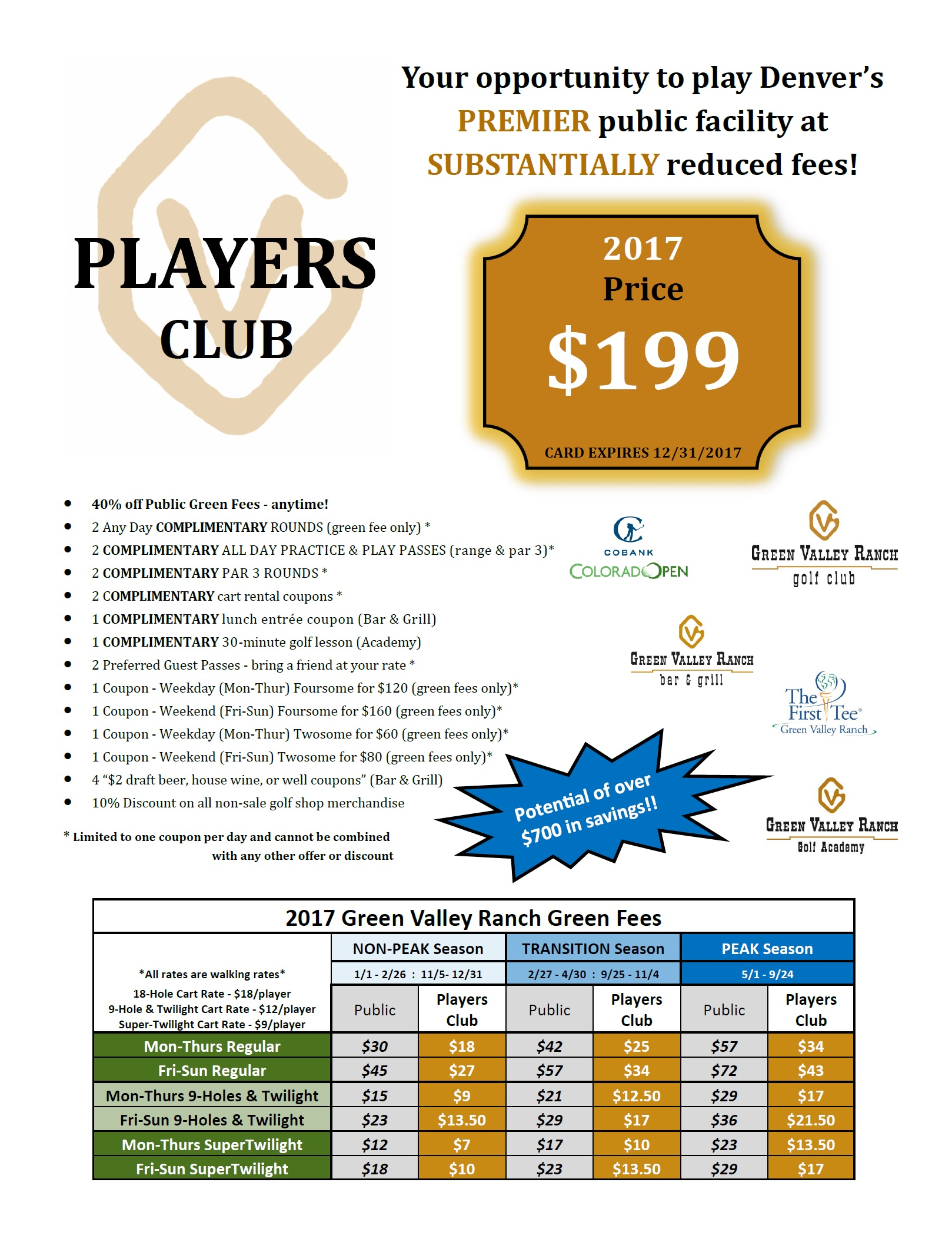 2017 Players Club